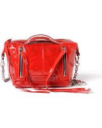 McQ - Red Mini Hobo - Lyst