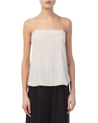 Vince - Double Striped Cami - Lyst