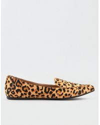 06023277320 American Eagle - Steve Madden Featherl Leopard Flat - Lyst