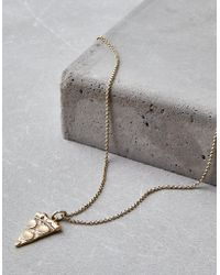 American Eagle - Pizza Boy Necklace - Lyst