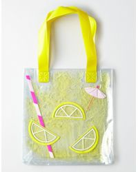 American Eagle - Lemonade Jelly Tote - Lyst