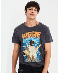 American Eagle - Ae Notorious B.i.g. Graphic Tee - Lyst