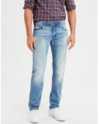American Eagle - Ae Flex Original Straight Jean - Lyst