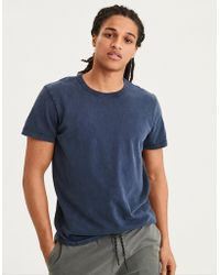 American Eagle - Ae Classic Soft Brushed Cotton Tee - Lyst