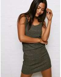 American Eagle - Don't Ask Why Snit Ribbed Bodcon Tank Dress - Lyst
