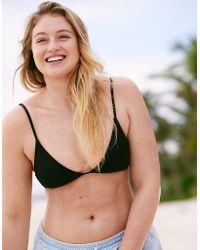 American Eagle - Triangle Bikini Top - Lyst