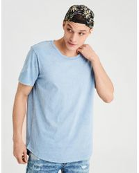 American Eagle - Ae Longline Scoop Neck T-shirt - Lyst