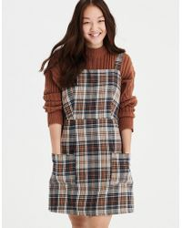 American Eagle - Ae Strappy Patch Pocket Dress - Lyst