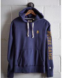 Tailgate - Men's Notre Dame Fleece Hoodie - Lyst