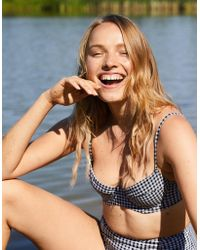 American Eagle - Unlined Underwire Bikini Top - Lyst