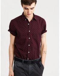 American Eagle - Ae Summer Button-down Shirt - Lyst