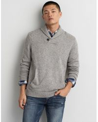 American Eagle - Popover Shawl Sweater - Lyst