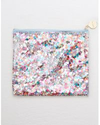 American Eagle - Packed Party Confetti Everything Pouch - Lyst