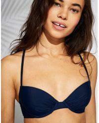 American Eagle - Lightly Lined Underwire Bikini Top - Lyst