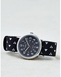 American Eagle - Timex Black Reversible Weekendertm Watch - Lyst