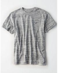 American Eagle - Ae Heathered Flex T-shirt - Lyst