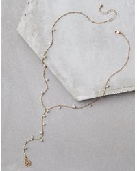 American Eagle - Delicate Pearl Necklace - Lyst