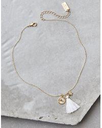American Eagle - Ae Eiffel Tower Necklace - Lyst