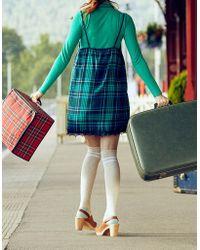 4496df30832 Lyst - Miss Selfridge Grey Over The Knee Socks in Gray