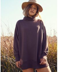 American Eagle - Turtleneck Sweatshirt - Lyst