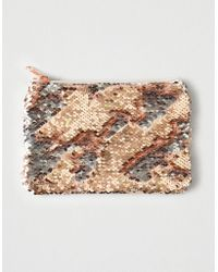 American Eagle - Sequin Pouch - Lyst