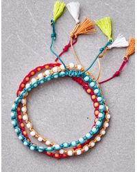 American Eagle - Bright Seed Bead Arm Party - Lyst