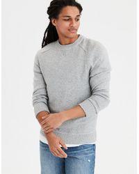 American Eagle - Ae Incredibly Soft Crewneck Sweater - Lyst