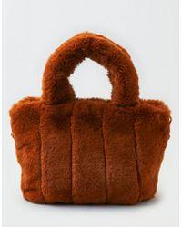 American Eagle - Ae Faux Fur Bag - Lyst