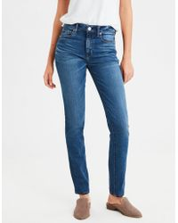 American Eagle - High-waisted Skinny Jean - Lyst