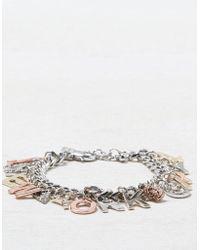 American Eagle - Ae Nyc Charm Bracelet - Lyst