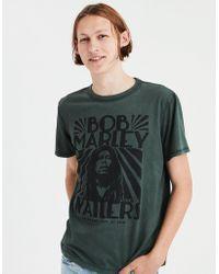 American Eagle - Ae Bob Marley Graphic Tee - Lyst