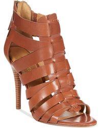 Nine West Anthurium High Heel Gladiator Sandals - Lyst