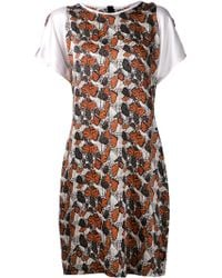 Rodarte Butterfly Shift Dress - Lyst