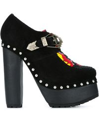 KTZ - Beaded Suede Boots  - Lyst