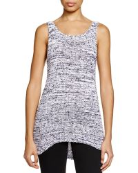 Two By Vince Camuto - Marled Knit Tank - Lyst