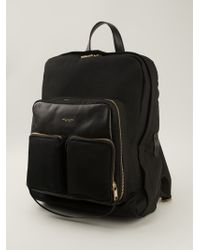 Marc Jacobs Panelled Gold Hardware Back Pack - Lyst