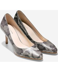 Cole Haan Lena Pump (75Mm) animal - Lyst