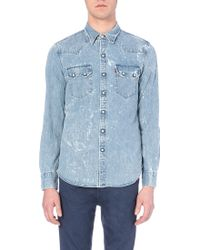 Levi's Saw Tooth Denim Shirt - For Men - Lyst