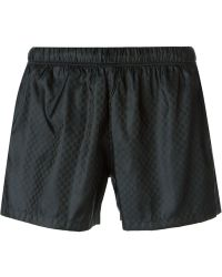 Gucci Guccissima Swim Shorts - Lyst