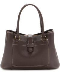 Loro Piana - Bellevue Odessa Textured-Leather Tote - Lyst