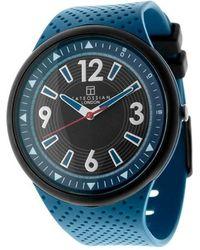 Tateossian Racing Time Watch In Blue - Lyst