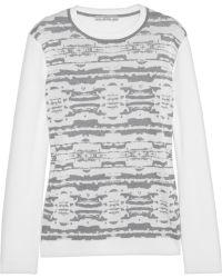 Dagmar - Darika Intarsia Knitted Sweater - Lyst