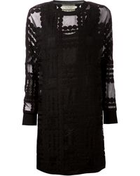 By Malene Birger Gioian Embroidered Dress - Lyst