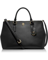 Tory Burch Robinson Double Zip Tote - Lyst