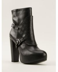 Markus Lupfer Embossed Ankle Boots - Lyst