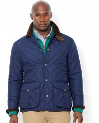 Polo Ralph Lauren Big and Tall Danbury Quilted Jacket - Lyst