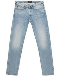 Paul Smith Bleached Light-Wash Tapered-Fit Jeans blue - Lyst