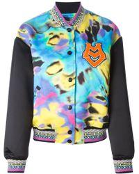 Love Moschino Tie-Dye Bomber Jacket - Lyst
