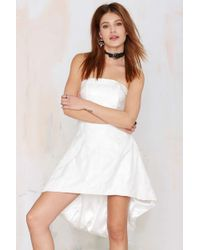 Nasty Gal Hot In The City Lace Dress - Lyst