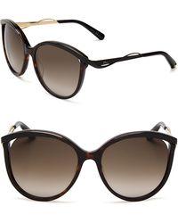 Dior Metaleyes Cat Eye Sunglasses - Lyst